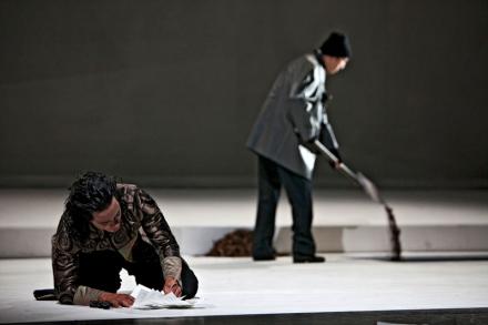 Orpheus und Euridice, Szenenbild